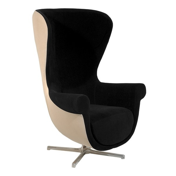 Martin Black/ Cream Armchair