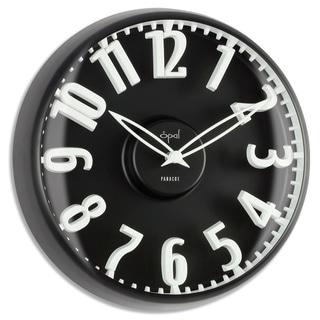 Opal Dome Glass Clock