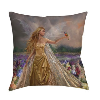 Thumbprintz Innocence Throw Pillow or Floor Pillow (Art by Nene Thomas)