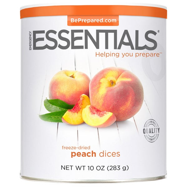 Emergency Essentials Freeze-dried Peach Dices