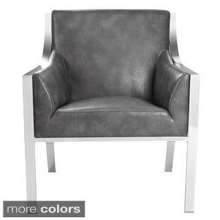Sunpan 'Club' Hyde Leather Armchair
