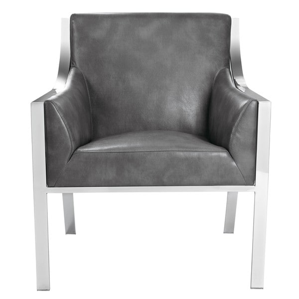 Sunpan Hyde Leather Armchair