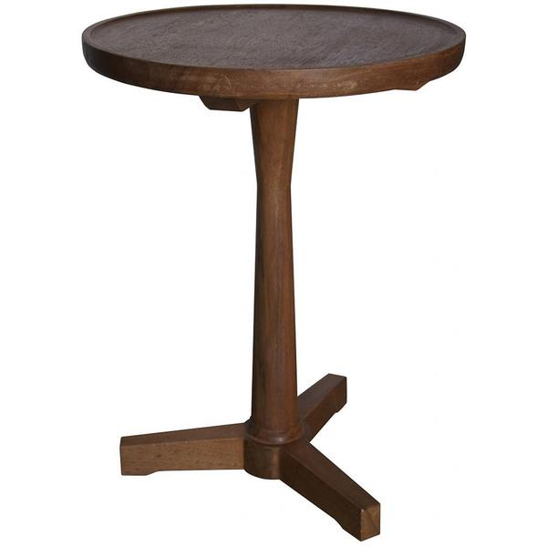 SImply Beautiful Dark Walnut Side Table