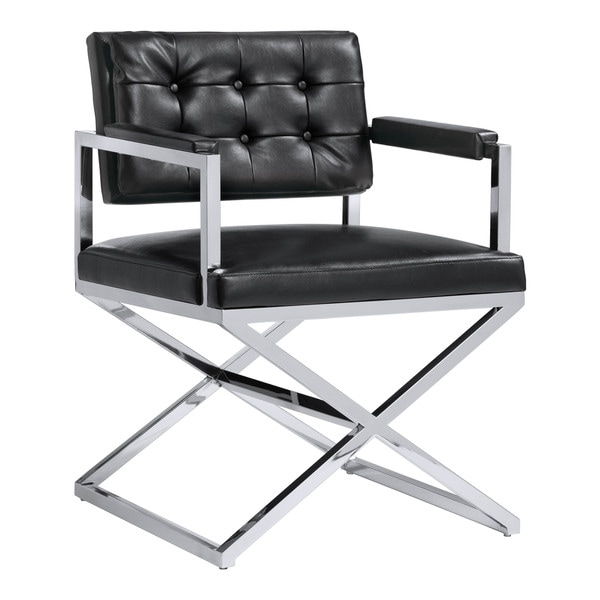 Sunpan Equinox Bonded Leather Armchair