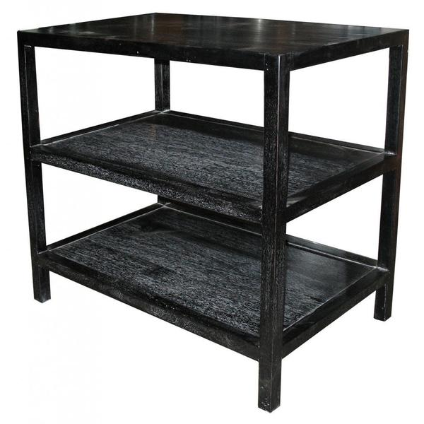 Dual Shelf Vintage Side Table