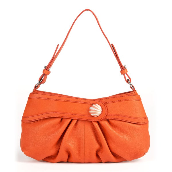 Wa Obi Tina Small Orange Shoulder Bag