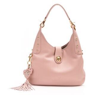 Wa Obi Betty Medium Pink Shoulder Bag