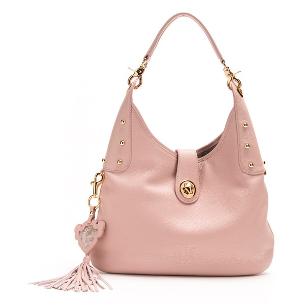 Wa Obi Betty Medium Pink Shoulder Bag