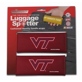NCAA Virginia Tech Hokies Luggage Spotter (Set of 2)