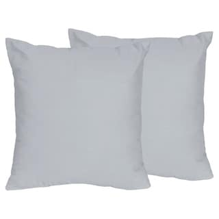 Sweet Jojo Designs Grey Throw Pillows (Set of 2)