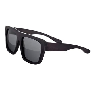 Earth 'Hermosa 097e' Wooden Frame and Black Sunglasses