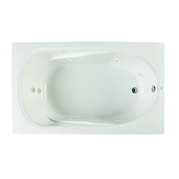 Clarke Products W3660-01CMH Sculptura III Drop-in Whirlpool Tub