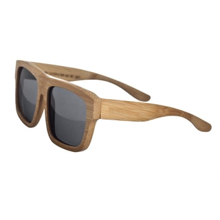 Earth 'Hermosa 097b' Wooden Frame and Black Sunglasses