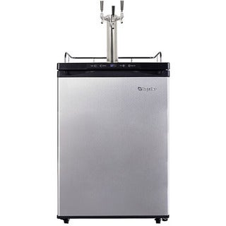 EdgeStar Full Size Triple Tap Kegerator with Digital Display