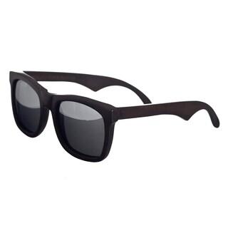 Earth 'Hampton 036E' Wood Frame and Silvertone Sunglasses