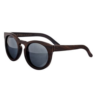 Earth 'Wildcat 032E' Hand-crafted Wooden Sunglasses