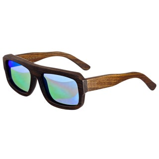 Earth Wood 'Daytona' Hand-crafted Wooden Sunglasses