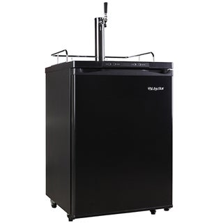 EdgeStar Black Full Size Kegerator with Digital Display