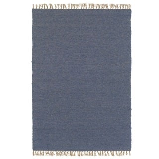 Verginia Berber Denim Blue Area Rug (7'10 x 10'4)