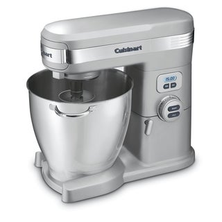 Cuisinart SM-70BCFR Brushed Chrome 7-Quart 12-Speed Stand Mixer (Refurbished)