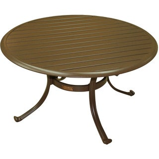 Panama Jack Island Breeze Patio Coffee Table with Slatted Aluminum Top