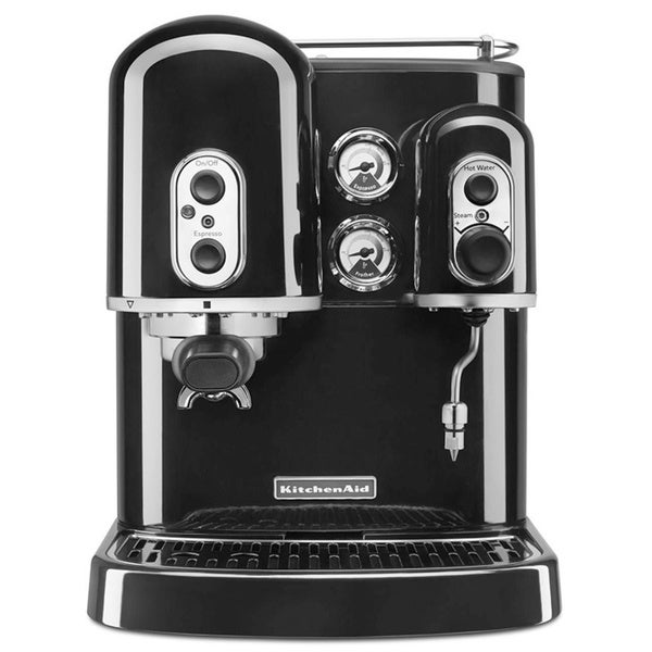 KitchenAid Onyx Black Espresso Maker with Dual Independent Boilers