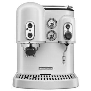 KitchenAid Frosted Pearl Espresso Maker with Dual Independent Boilers