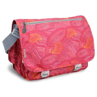 JWorld New York Paisley Print Terry Messenger Bag
