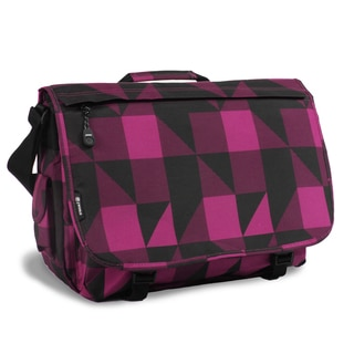 JWorld New York Block Pink Thomas 15-inch Laptop Messenger Bag