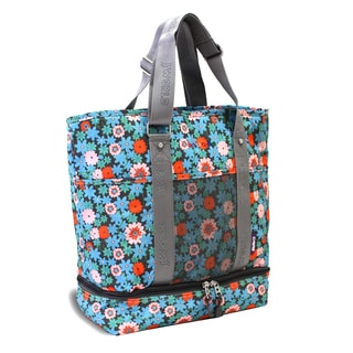 JWorld New York Blossom Print Elaine Lunch Tote Bag