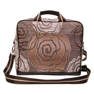Mellow World Rose Vintage Tapestry Laptop Case