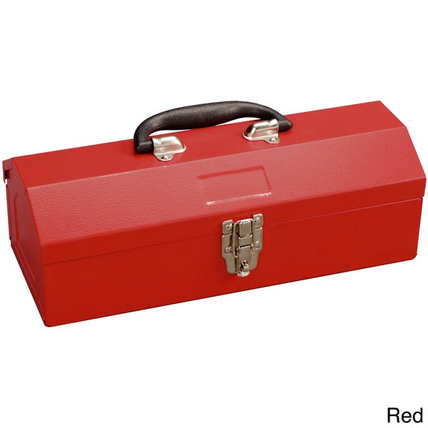Excel 14-inch Portable Steel Tool Box