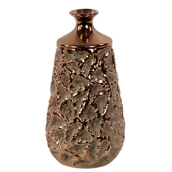 Ceramic Bronze Vase