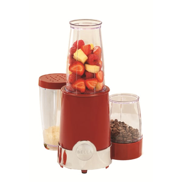 Bella Red 12-piece Rocket Blender