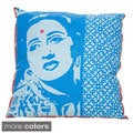 18 x 18-inch Bollywood Decorative Throw Pillow