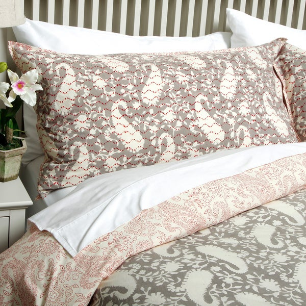 Paisley Beige 3-piece Duvet Cover Set