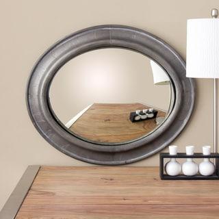 Metal Wrap Oval Convex Mirror (India)