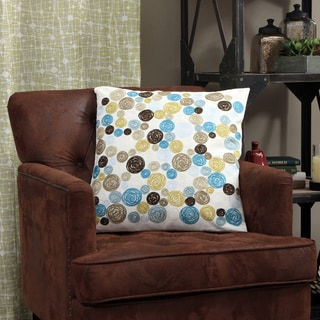 Sitra Natural 20 x 20-inch Decorative Pillow