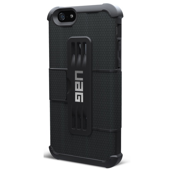 Urban Armor Gear Carrying Case (Folio) for iPhone - Black