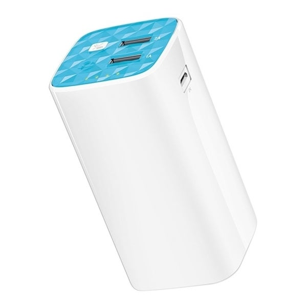 TP-LINK TL-PB10400 10400mAh Power Bank, 2 USB ports(5V/1A, 5V/2A), 1