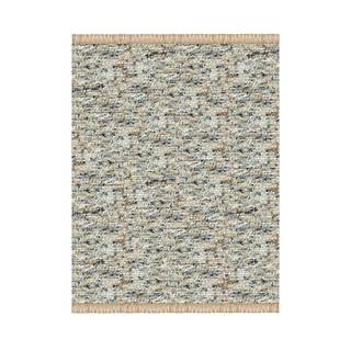Verginia Berber Dark/ Natural Area Rug (3'5 x 5'5)