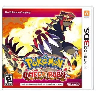 Nintendo 3DS - Pokemon Omega Ruby