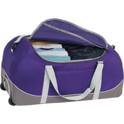 High Sierra Wheel-N-Go Deep Purple/Charcoal 30-inch Duffel Bag