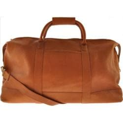 Millennium Leather Vaqueta Getaway Bag Tan Vaqueta Napa