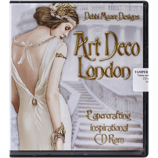 Debbi Moore Art Deco Papercrafting CD ROM-London