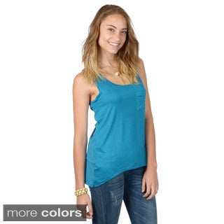 Hailey Jeans Co. Junior's Sleeveless Scoop Neck Tank Top