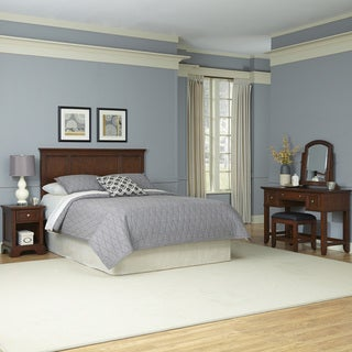 Home Styles Chesapeake Headboard, Night Stand, Vanity, and Bench