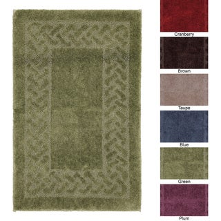 Sculptures Collection Nylon 20 x 34 Bath Rug
