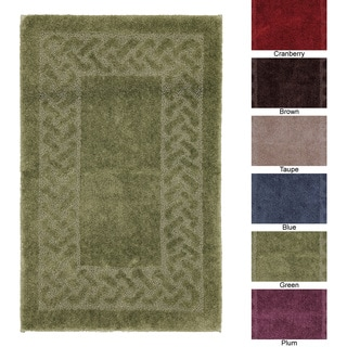 Sculptures Collection Nylon 24 x 40 Bath Rug