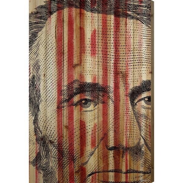 Parvez Taj 'Abe Lincoln' Fine Art Print